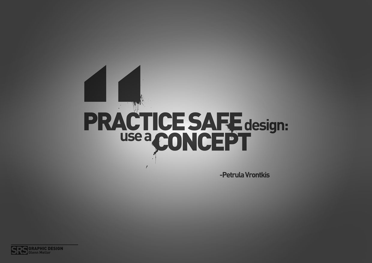 Finished works glenn mellor for Architecture quotes wallpaper
