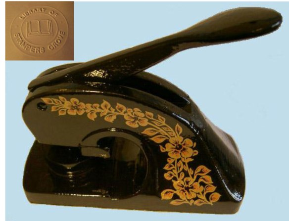 Embossing-machine-and-impression