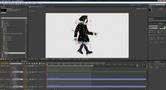 animating