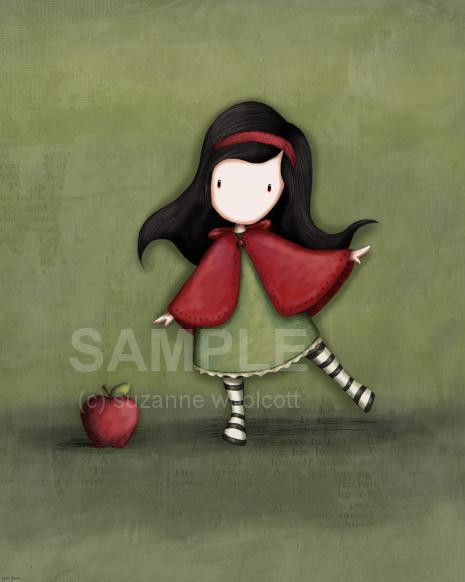 Little_Red_by_gorjuss